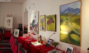 Ausstellung mit Arbeiten von Professor Siegfried Mängel