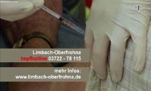 Impftermine in der Stadthalle Limbach-Oberfrohna