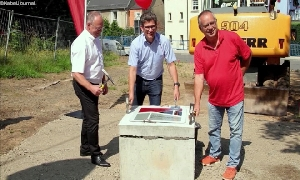 Grundstein für neues Hortgebäude gelegt