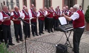 Rathaus-Serenade im Burgstädter Rathaushof