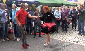 Straßenfest in Flöha