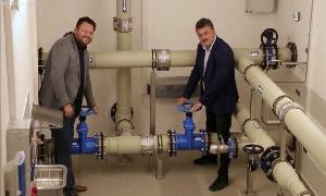 Hochbehälter für die Trinkwasserversorgung