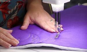 Textiles Handwerk und Patchwork